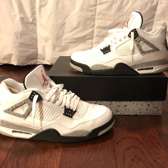 big sale 2698f 9fb8f Jordan Other - Air Jordan 4 Retro OG  Cement  2016